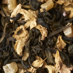 Three famous green tea, Special Gunpowder, Chun Mee and King of Jasmine 2011 flavoured blend Golden Jubilee Loose leaf tea