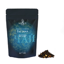 Tat'jana Leaf tea - Viaggio in Russia Tea Travels Collection in 50 grams bag