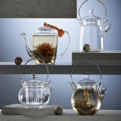 Glass Teapot Teaware