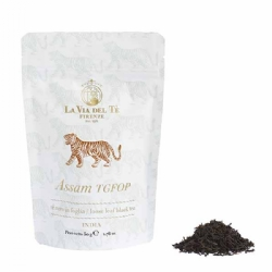 Assam Doomni TGFOP1 Black Indian Tea Loose Leaf in 50 grams bag