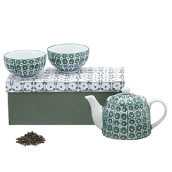 Teapot set: teapot(400 cc) + 2 cup with saucer (250 cc)