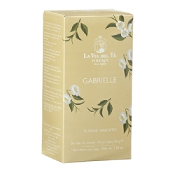 Gabrielle Flavoured teas and blends 20 filters box