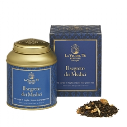 Il Segreto dei Medici Leaf tea Flavoured teas and blends jasmine tea Firenze Collection 100 grams tin