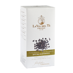 Special Gunpowder Green tea Whole - leaf tea pouches