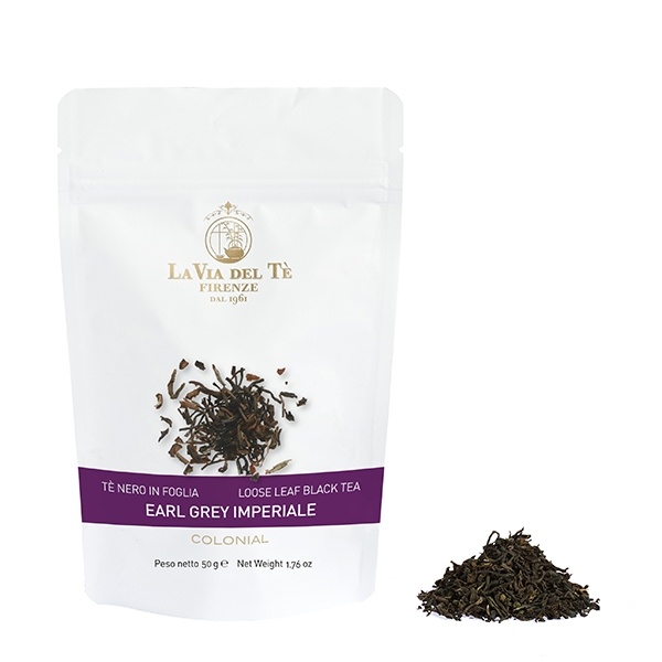 Flavoured blend of loose leaf teas in 50 grams bag